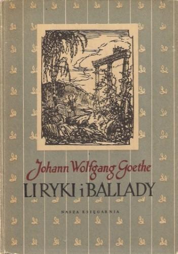 Okładka książki Liryki i ballady
