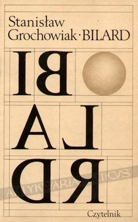 Okładka książki Bilard