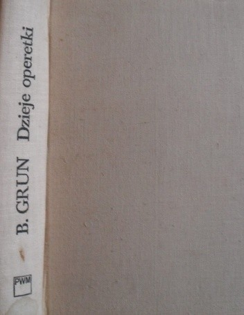 Okładka książki Dzieje operetki