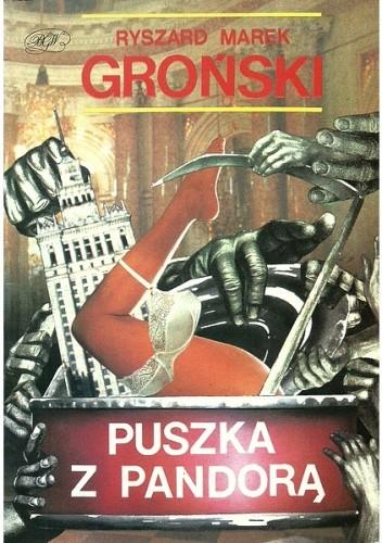 Okładka książki Puszka z Pandorą