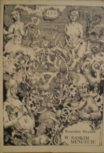 Okładka książki W saskim menuecie