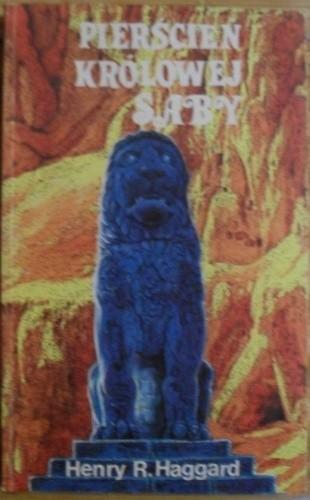 Okładka książki Pierścień królowej Saby