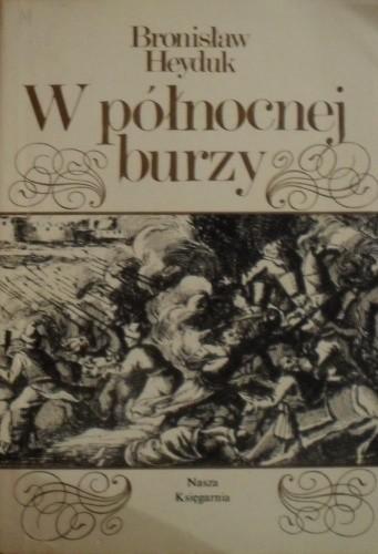 Okładka książki W północnej burzy