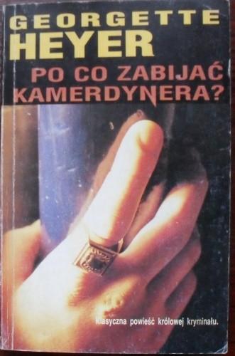 Okładka książki Po co zabijać kamerdynera?