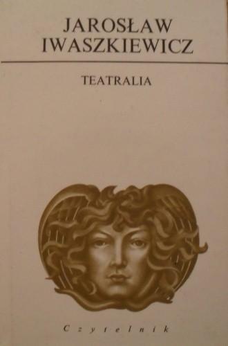 Okładka książki Teatralia