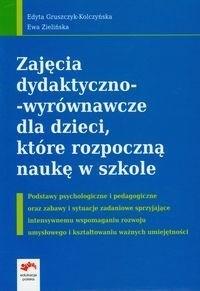Okładka książki Zajęcia dydaktyczno wyrównawcze dla dzieci, które rozpoczną naukę w szkole