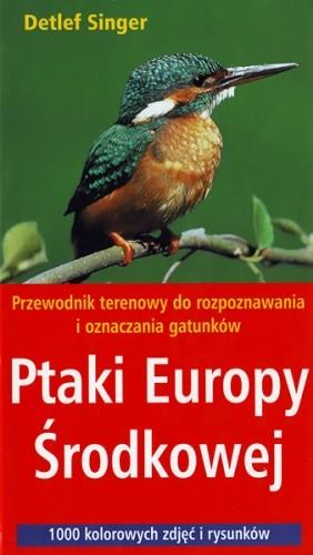 Okładka książki Ptaki Europy Środkowej