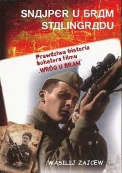 Okładka książki Snajper u bram Stalingradu