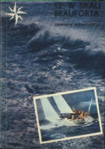 Okładka książki 13º w skali Beauforta