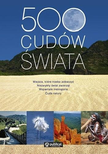 Okładka książki 500 cudów świata