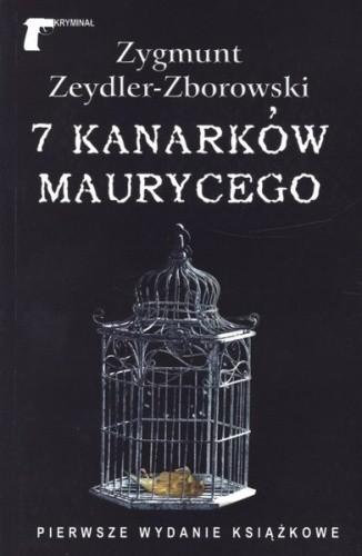 Okładka książki 7 kanarków Maurycego