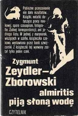 Okładka książki Almiritis piją słoną wodę