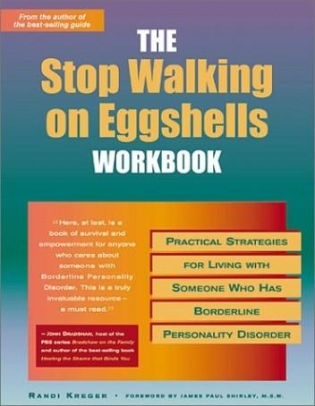 Okładka książki Stop Walking on Eggshells Workbook