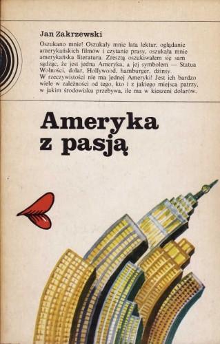 Okładka książki Ameryka z pasją