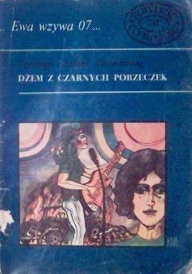 Okładka książki Dżem z czarnych porzeczek