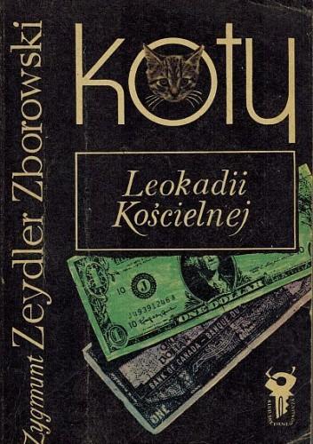 Okładka książki Koty Leokadii Kościelnej