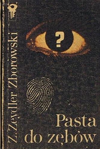 Okładka książki Pasta do zębów