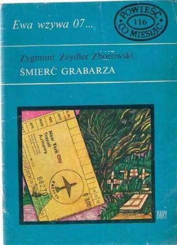 Okładka książki Śmierć grabarza