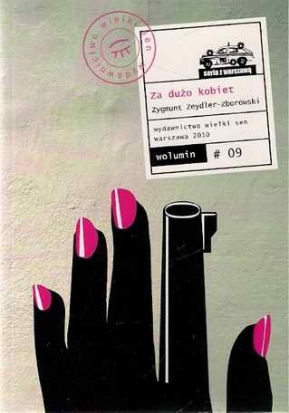 Okładka książki Za dużo kobiet