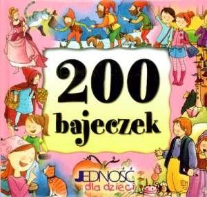 Okładka książki 200 bajeczek