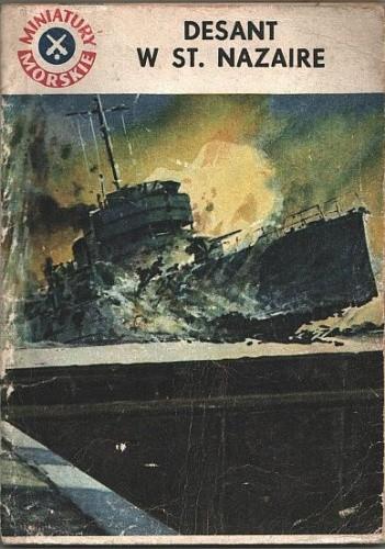 Okładka książki Desant w St. Nazaire