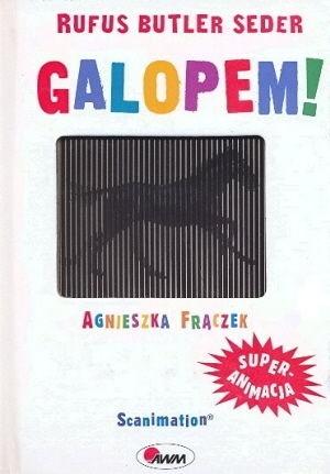 Okładka książki Galopem!