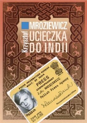 Okładka książki Ucieczka do Indii