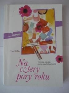 Okładka książki Na cztery pory roku