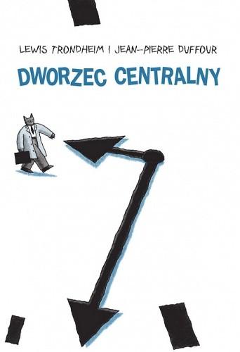 Okładka książki Dworzec centralny