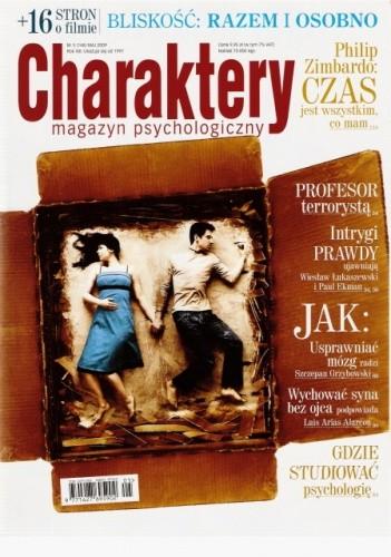 Okładka książki Charaktery, nr 5 (148) / maj 2009