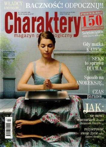 Okładka książki Charaktery, nr 7 (150) / lipiec 2009