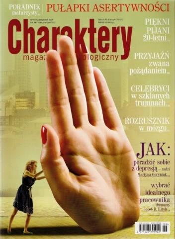 Okładka książki Charaktery, nr 9 (152) / wrzesień 2009