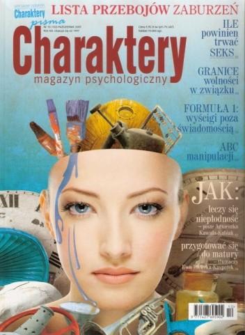 Okładka książki Charaktery, nr 10 (153) / październik 2009