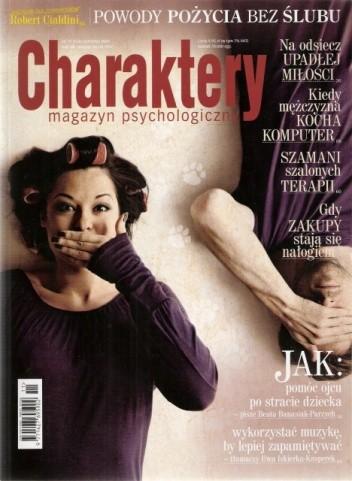 Okładka książki Charaktery, nr 11 (154) / listopad 2009