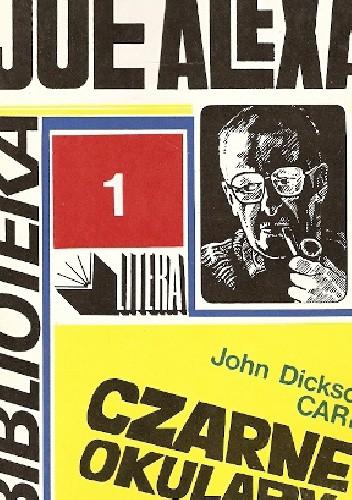 Okładka książki Czarne okulary: morderstwo dla psychologów