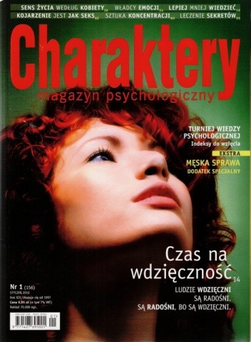 Okładka książki Charaktery, nr 1 (156) / styczeń 2010