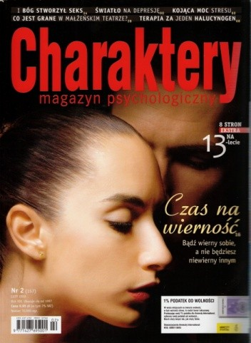 Okładka książki Charaktery, nr 2 (157) / luty 2010