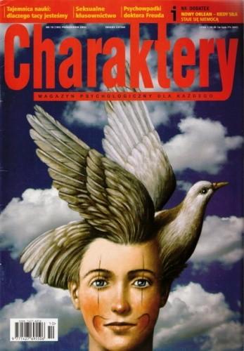 Okładka książki Charaktery, nr 10 (105) / październik 2005