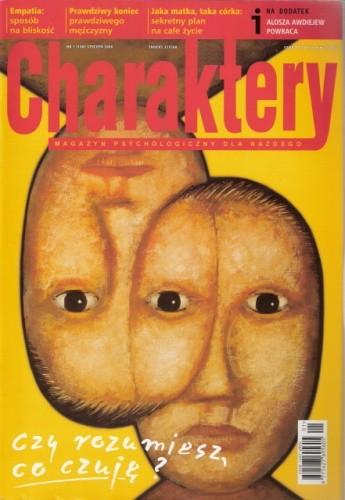 Okładka książki Charaktery, nr 1 (108) / styczeń 2006