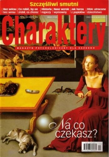 Okładka książki Charaktery, nr 11 (118) / listopad 2006