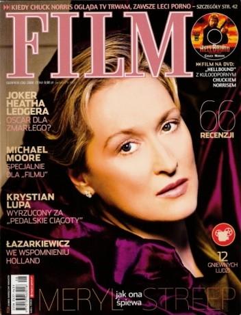 Okładka książki Film, sierpień (08) 2008