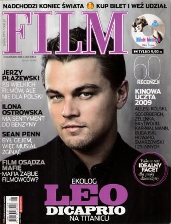 Okładka książki Film, styczeń (01) 2009