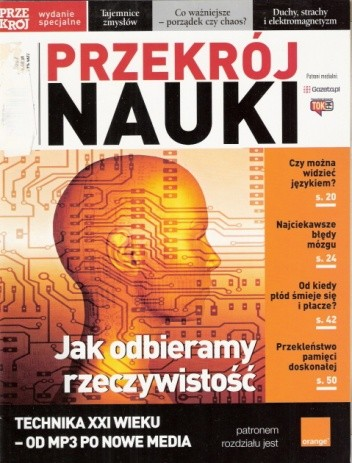 Okładka książki Przekrój Nauki, nr 2 / luty 2007