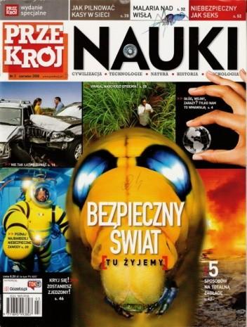 Okładka książki Przekrój Nauki, nr 3 / czerwiec 2008