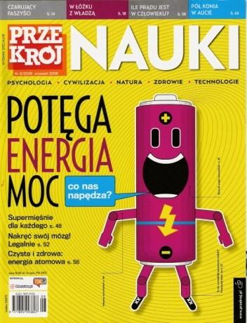 Okładka książki Przekrój Nauki, nr 8 / wrzesień 2008