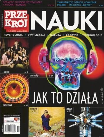 Okładka książki Przekrój Nauki, nr 11 / grudzień 2008