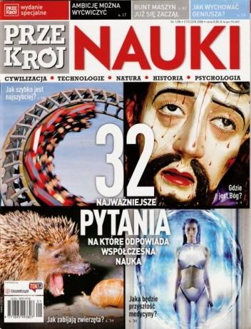 Okładka książki Przekrój Nauki, nr 1 / styczeń 2008