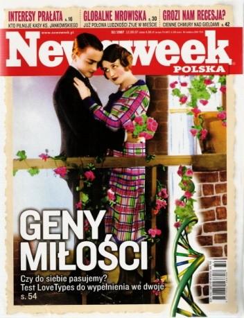 Okładka książki Newsweek, nr 32/2007
