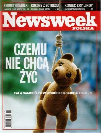 Okładka książki Newsweek 10/2008