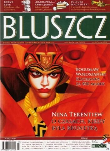 Okładka książki Bluszcz, nr 10 / lipiec 2009
